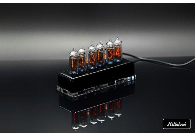 Uhren - In-14 nixie Nixie Rohruhr montierter Acrylgehäuse Adapter 6-Röhre von Millcock