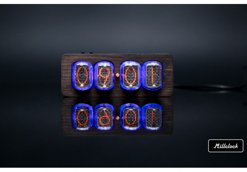 in-12 nixie tube clock...