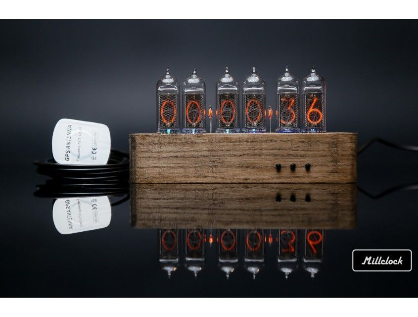 Nixie clock – buy from e-shop Millclock: prices, reviews