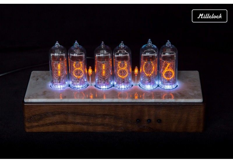 IN-14 Nixie tube Clock in...