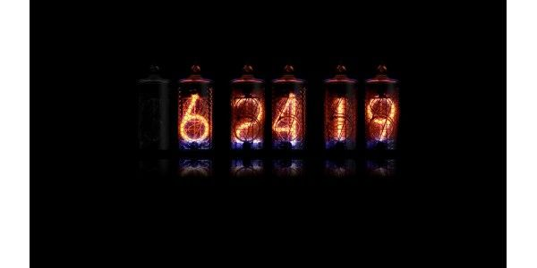 Roku to save the screens with Nixie tubes